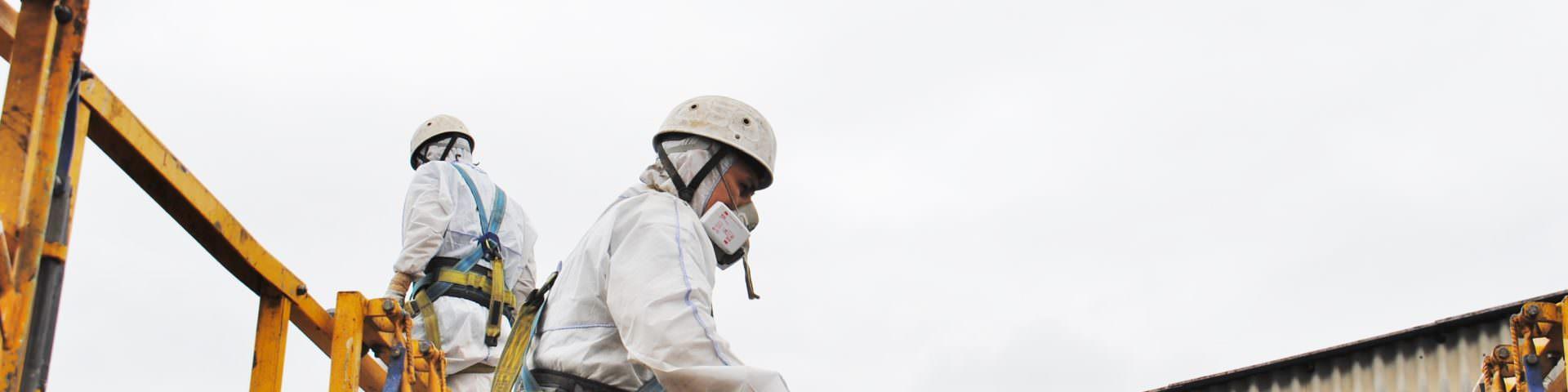 Dekontamination Asbest