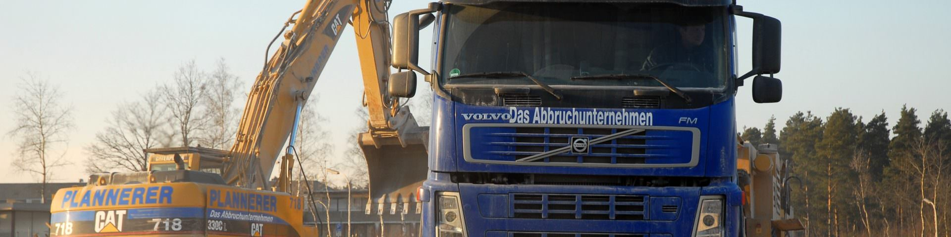 Plannerer Abbruch Autobahnbrücke